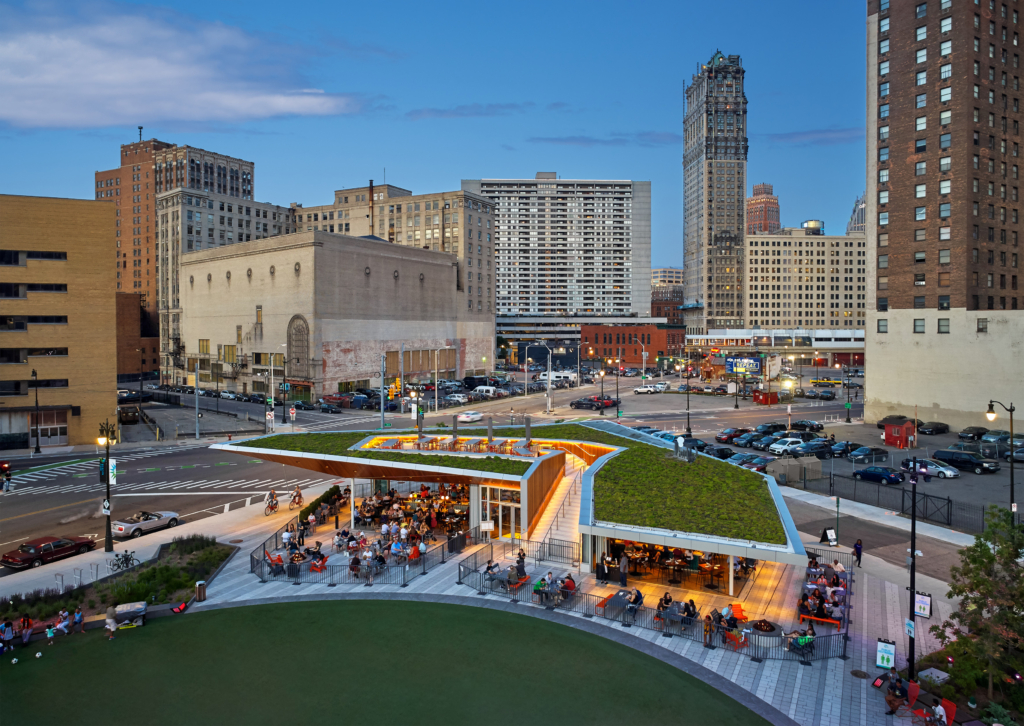 Lumen Detroit adds to Detroit's energy.